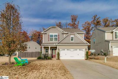 Greer Single Family Home For Sale: 101 Stream Crossing