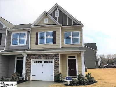 Greenville County Condo/Townhouse For Sale: 609 Daisy Hill #lot 118