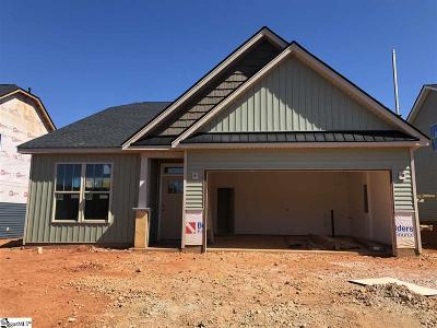 Greer Single Family Home For Sale: 707 Corley #Lot 71