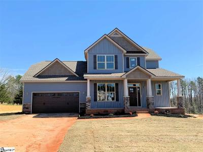 Taylors Single Family Home For Sale: 7 Ryders #Lot 43