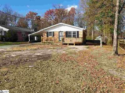 Taylors Single Family Home For Sale: 2207 E Lee