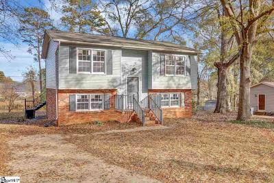 Simpsonville Single Family Home For Sale: 103 Chuckwood