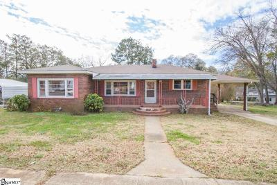 Pelzer Single Family Home For Sale: 23 Smith