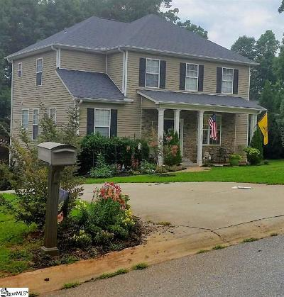 Inman Single Family Home For Sale: 326 Wild Azalea