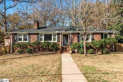 Greenville Single Family Home Contingency Contract: 36 Scarlett