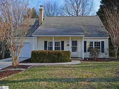 Greenville County Single Family Home For Sale: 108 Three Forks