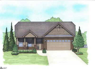 Greer Single Family Home For Sale: 105 Ramshackle #Lot 6