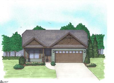 Greer Single Family Home For Sale: 107 Ramshackle #Lot 7
