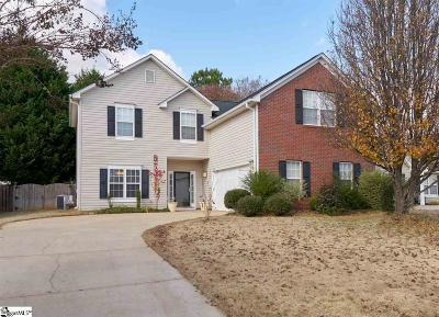 Simpsonville Single Family Home For Sale: 3 Sentinel