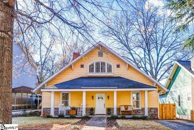 Greenville Single Family Home For Sale: 911 Hampton