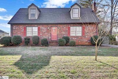 Greenville County Single Family Home For Sale: 36 Riverwood