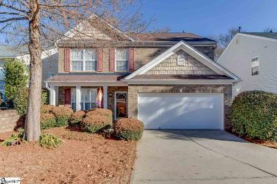 Greer Single Family Home For Sale: 832 Medora