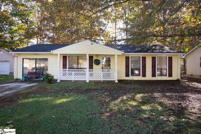 Piedmont Single Family Home For Sale: 107 Bee Tree