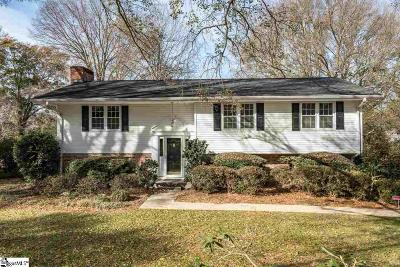 Greenville Single Family Home For Sale: 514 Wembley