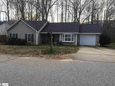 Simpsonville Single Family Home Contingency Contract: 104 Boxelder