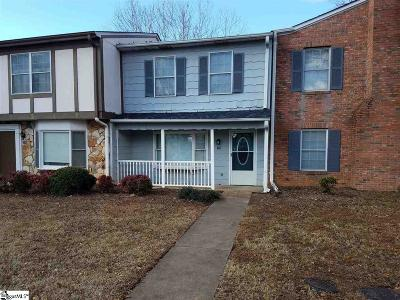 Greenville County Condo/Townhouse For Sale: 130 Shadytree