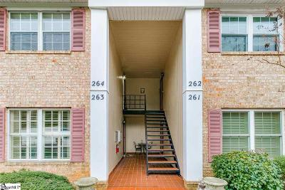 Greenville Condo/Townhouse For Sale: 925 Cleveland #Unit 264