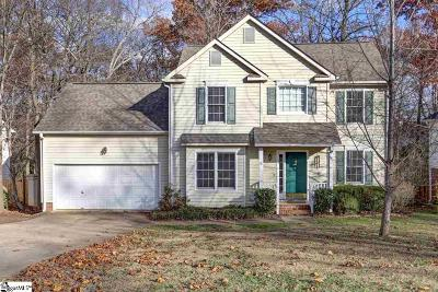 Greenville County Single Family Home For Sale: 8 Angel Wing