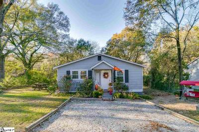 Greenville SC Single Family Home For Sale: $146,900