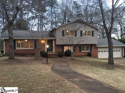 Greenville SC Single Family Home For Sale: $190,000