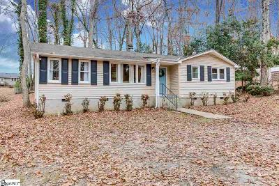 Greenville SC Single Family Home For Sale: $238,900