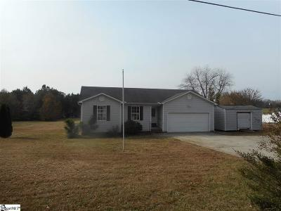 Pelzer Single Family Home For Sale: 267 Clardy