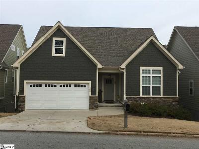 Greenville County Single Family Home For Sale: 106 Pebble Creek