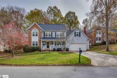 Simpsonville Single Family Home For Sale: 200 Circle Slope