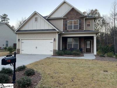 Fountain Inn Single Family Home For Sale: 24 Trailwood