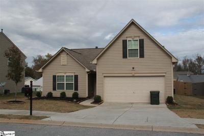 Simpsonville Single Family Home For Sale: 10 Ivory Arch
