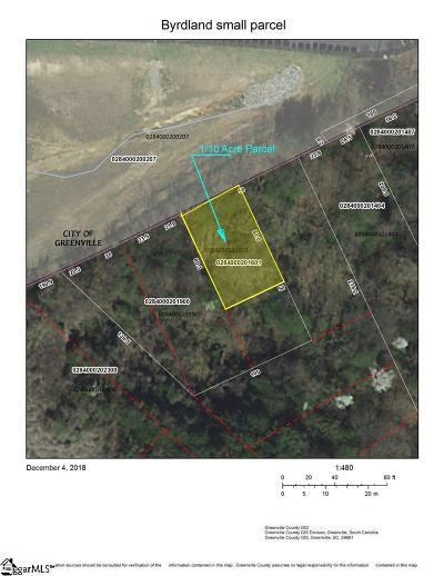 Greenville Residential Lots & Land For Sale: Byrdland
