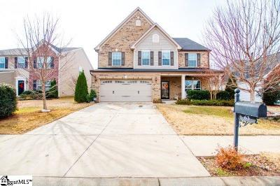Simpsonville Single Family Home For Sale: 63 Chapel Hill
