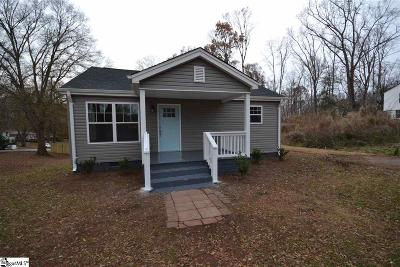 Greenville Single Family Home For Sale: 107 Woodland