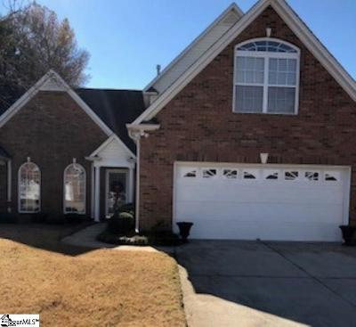 Greenville SC Condo/Townhouse For Sale: $218,000
