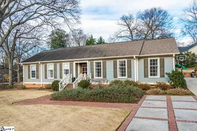 Greenville Single Family Home For Sale: 34 W Tallulah