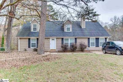 Greenville SC Single Family Home For Sale: $185,000