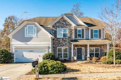 Simpsonville Single Family Home For Sale: 102 Crowflock