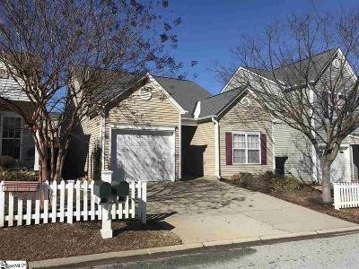 Simpsonville Single Family Home For Sale: 104 Callbeck