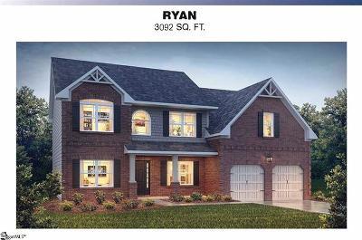Easley Single Family Home For Sale: 101 James Lake