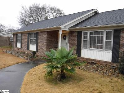 Taylors Single Family Home For Sale: 19 Cunningham