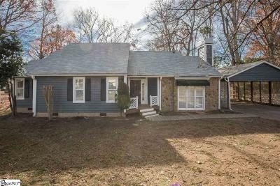 Simpsonville Single Family Home For Sale: 105 Smithwood