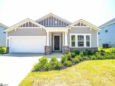 Greer Single Family Home For Sale: 288 Delbourne