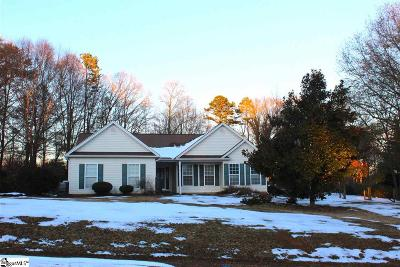 Greer Single Family Home For Sale: 15 Jude