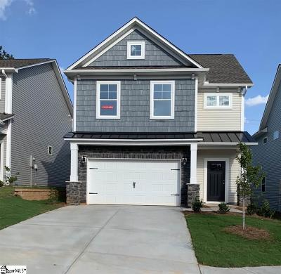 Simpsonville Single Family Home For Sale: 208 Wheaton