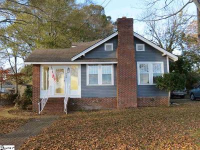 Easley SC Single Family Home Contingency Contract: $159,900