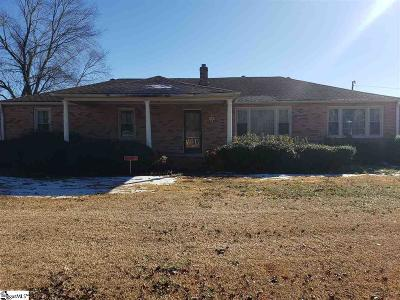 Easley Single Family Home For Sale: 1604 Powdersville