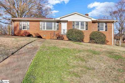 Greenville SC Single Family Home For Sale: $150,000