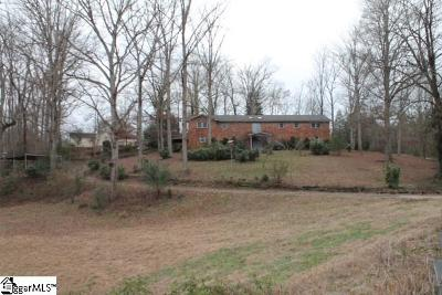 Piedmont Single Family Home For Sale: 602 Saluda