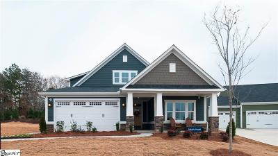 Simpsonville Single Family Home For Sale: 3 Fawn Hill
