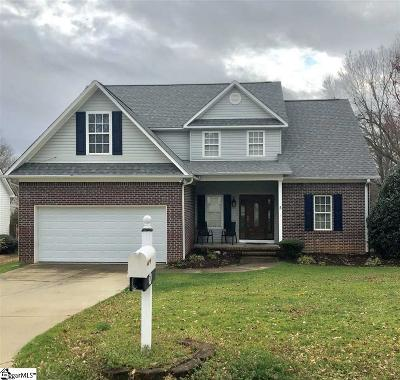 Moore SC Single Family Home For Sale: $199,777